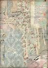 Carta Riso A4 Stamperia DFSA4441