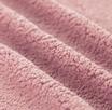 Tessuto Peluche Teddy Rosa Cipria 50x75 cm