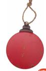 Sfera Latta Piatta Rosso 3935-01