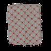 Tubolare Paillettes Rombo Cuori Rosso 10cm