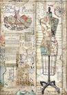 Carta Riso A4 Stamperia DFSA4442