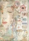 Carta Riso A4 Stamperia DFSA4437