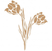 Stencil Decò Tulipani cod. 0003600