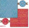 Carta Scrap Double Face Patchwork Fiorata Rosso Fiori SBB573