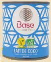 LAIT DE COCO BIO à base de noix de coco royale 200ML