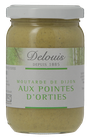 MOUTARDE AUX POINTES D'ORTIES 200gr