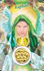 Carte Médaille Ange Raphaël