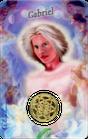Carte Médaille Ange Gabriel