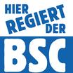 """Aufkleber """"Hier regiert der BSC"""" (Päckchen m. 35 Stück)"""