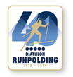 "Offizieller Pin ""40 Jahre"" Biathlon Ruhpolding 1978-2018"