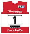 Original Biathlon Startnummer Österreich / Bib Austria