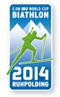Offizieller Pin Biathlon Weltcup 2014 Ruhpolding