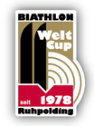 Pin Biathlon Weltcup seit 1978