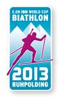 Offizieller Pin Biathlon Weltcup 2013 Ruhpolding