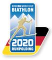 """Offizieller Pin Biathlon Weltcup 2020 Ruhpolding """"Flag"""""""