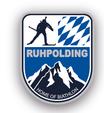 Pin Biathlon Ruhpolding Wappen