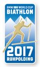 Offizieller Pin Biathlon Weltcup 2017 Ruhpolding