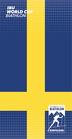 Multifunktionstuch Weltcup Schweden