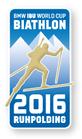 Offizieller Pin Biathlon Weltcup 2016 Ruhpolding