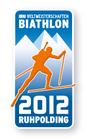 Offizieller Pin Biathlon Weltmeisterschaft 2012 Ruhpolding