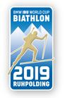 Offizieller Pin Biathlon Weltcup 2019 Ruhpolding