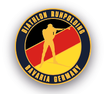 Pin Biathlon Ruhpolding Bavaria Germany