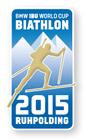 Offizieller Pin Biathlon Weltcup 2015 Ruhpolding