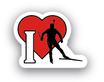 Pin I Love Biathlon