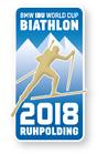 Offizieller Pin Biathlon Weltcup 2018 Ruhpolding