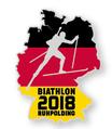 Pin Biathlon Deutschland 2018