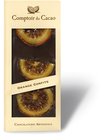 Tablette chocolat noir orange 90g