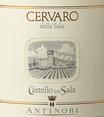 `18 Cervaro della Sala, Castello della Sala, Antinori, 0.75l