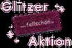 fellschön Glitzer-Pink Restbestände Aktion