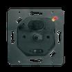 Interrupteur va et vient variateur de lumière rotatif LED ou Standard