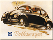 VW Käfer schwarz