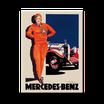 Mercedes Benz - rote Frau