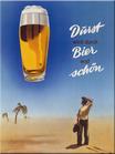 Durst wird durch Bier