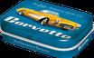 Gelbe Corvette
