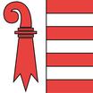 Jura  Fahne mit eingesetzem Wappen