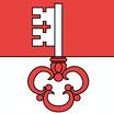 Obwalden  Fahne mit eingesetzem Wappen