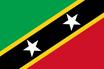 St. Kitts und Nevis Fahne / Flagge