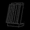 Magnetmesserblock