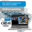 Vibration Analysis ISO Category III and ASNT Level III - Online Learning