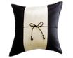 タイランド クッションカバー チェンマイ デザイン  ホワイト × ブラック 【白×黒】  【Chiang Mai Design , White × Black / Thailand Cushion Cover】 40×40cm