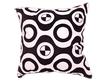 タイシルク クッションカバー  チェッカーデザイン ホワイト 【白】 【Checker Design , White / Thaisilk Cushion Cover】 45×45cm 対応