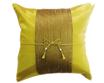 クッションカバー  チェンマイ デザイン ライト グリーン 【緑】  【Chiang Mai Design , Light Green / Thailand Cushion Cover】 40×40cm