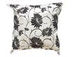 タイシルク クッションカバー  ロータス デザイン  ホワイト 【白】   【Lotus Design , White / Thaisilk Cushion Cover】  45×45cm 対応