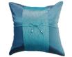 タイランド クッションカバー  チェンマイ デザイン ブルー 【青】  【Chiang Mai Design , Blue / Thailand Cushion Cover】 40×40cm