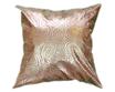 タイシルク クッションカバー  ゴールドリング デザイン シャンパンゴールド 【金】  【Gold Ring Design , Champagne Gold / Thaisilk Cushion Cover】 45×45cm 対応