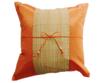 クッションカバー チェンマイ デザイン オレンジ 【橙】  【Chiang Mai Design , Orange / Thailand Cushion Cover】 40×40cm